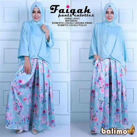 Set Setelan Blouse Polos Kulot Motif Terbaru Murah fashion butiq fast respon sms wa 082221989985 no call