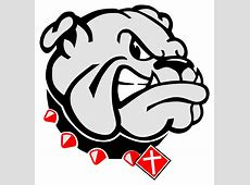 Liberty Georgia Bulldog Clipart Logo