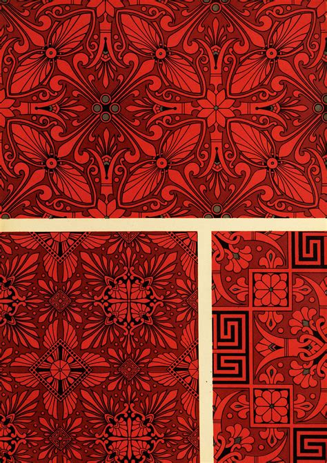design pattern with c greek inspired floral patterns from studies in design by