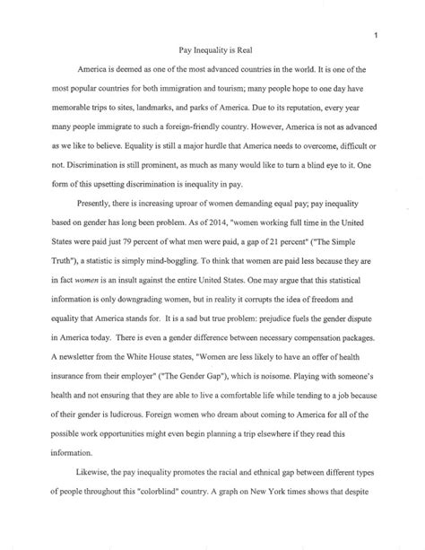 Pay For Essays by Equal Pay Day Essay Contest 2016 Runner Up