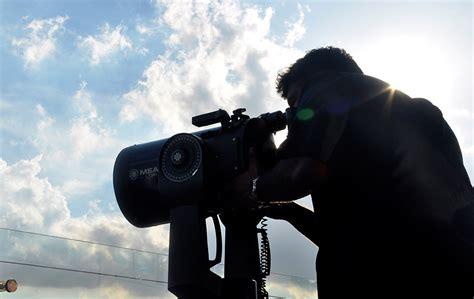 Telescope Anak Anak nordin raj abdullah menggunakan teleskop melihat anak