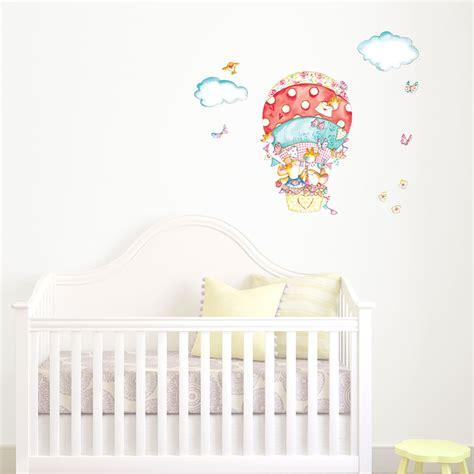 Wall Sticker Balon Uk 60x90cm spotty balloon wall sticker nursery wall stickers