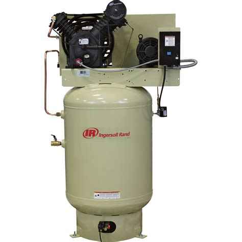 free shipping ingersoll rand electric stationary air compressor fully packaged 10 hp 35