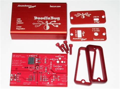 doodlebug usb isolator doodlebug kit beezar audio