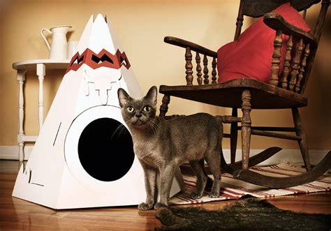 designboom cat furniture designboom shop cat teepee by loyal luxe