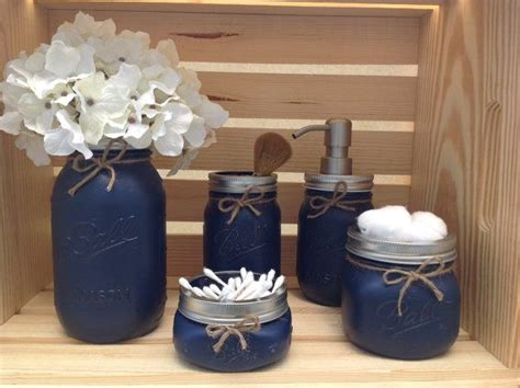 lighthouse bathroom decor set 25 best ideas about painted jars on pinterest painted