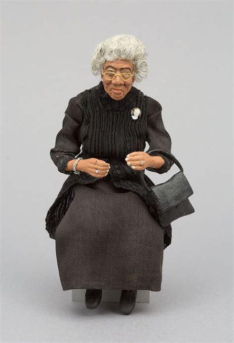 black dollhouse dolls vintage black by glenda 1 12 scale ooak