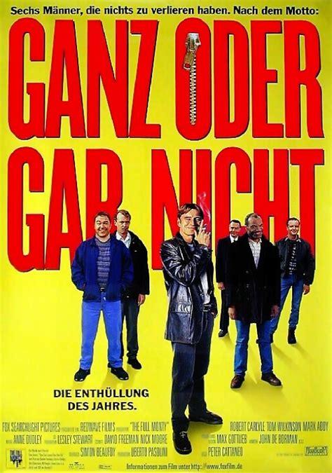 film ganz filmplakat ganz oder gar nicht 1997 plakat 2 von 2
