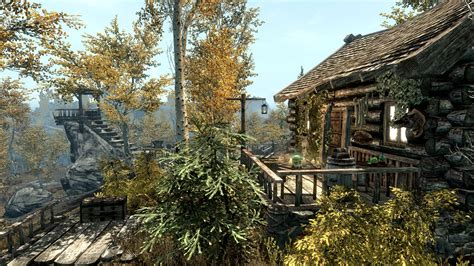 skyrim house some small hunter houses at skyrim nexus mods and community