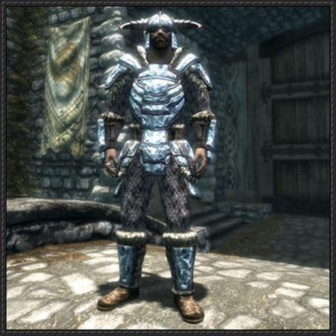 Stalhrim Light Armor by The Elder Scrolls V Dragonborn Stalhrim Armor Free