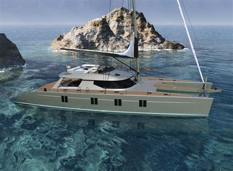 aluminium catamaran hull thickness alu marine introduces the sailing catamaran havana 72