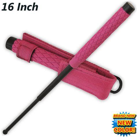 Jual Baton Stick Titanium by 16 Inch Baton Self Defense Solid Steel Stick W
