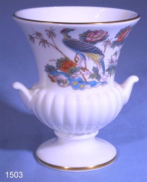 Wedgwood Vase Patterns by Wedgwood Kutani Crane Bone China Posy Vase Collectable China