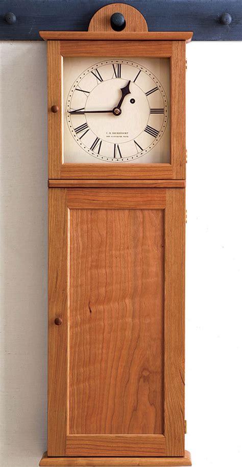 shaker style clock finewoodworking