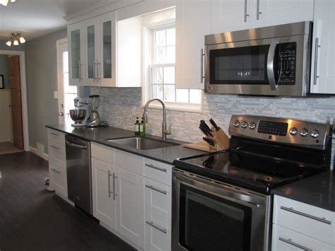 black and white appliance reno glamorous kitchen cabinet colors with black appliances