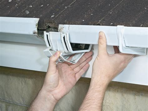 how to repair a leaky gutter a dyi how to repair leaky gutters and downspouts how tos diy