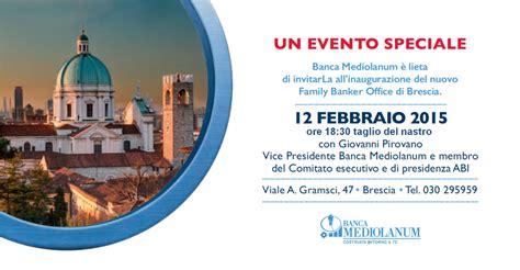 Banca Mediolanum Brescia by Sergio Ronconi Banca Mediolanum Brescia Gli Eventi
