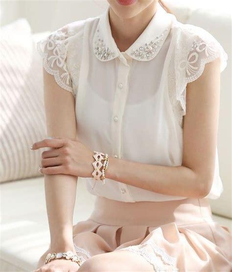 billiken collar koreanische kunst spitzenshirts and b 252 bchenkragen on
