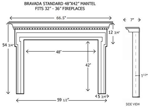 standard fireplace mantel height wood fireplace mantels builder mantels bravada