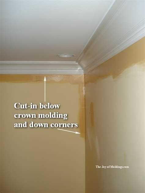 how to paint moldings the joy of moldings com