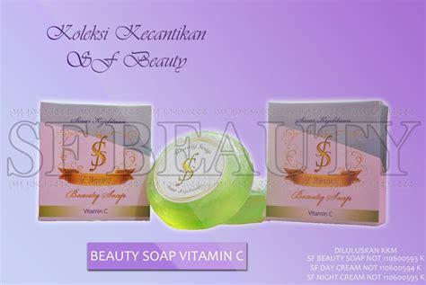 Sabun Vitamin E keterangan produk sf sinar kejelitaan