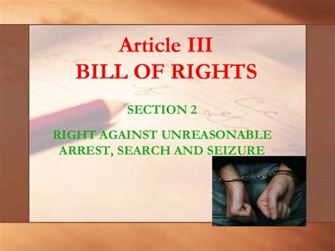 bill of rights article 3 section 1 22 article iii section 2