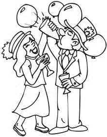 coloring pages new years free images