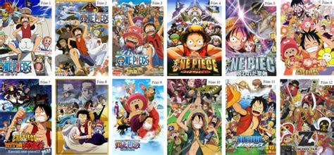film one piece lista les films de one piece actualit 233 s et informations sur