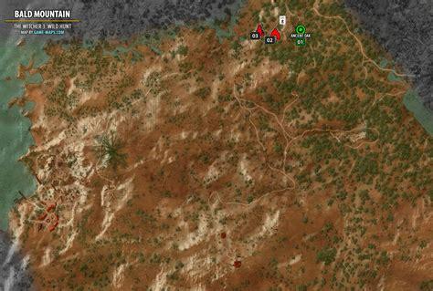 The Whispering Mountain bald mountain map the witcher 3 walkthrough maps