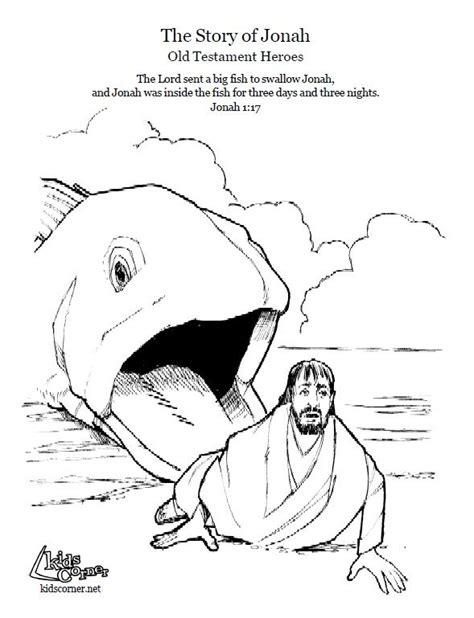 25 Best Ideas About Jonah Craft On Pinterest Bible Jonah And The Big Fish Coloring Page