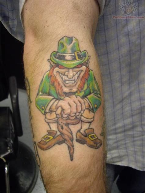 leprechaun tattoos and designs page 20 unique angry leprechaun tattoos