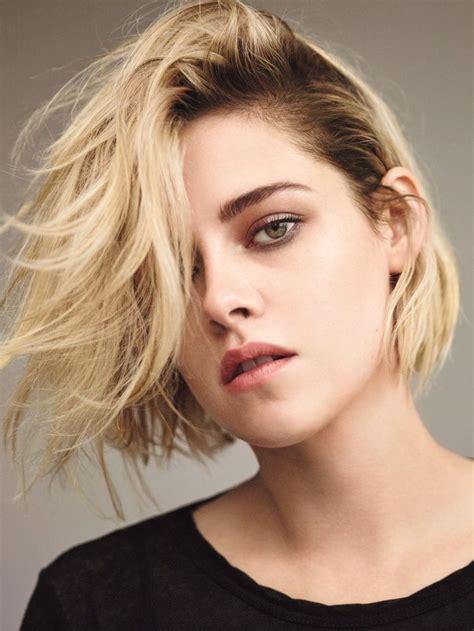 girl hairstyles blonde kristen stewart takes on minimal style for t magazine