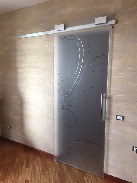 porta in vetro scorrevole porte in vetro napoli vm design glass porte in