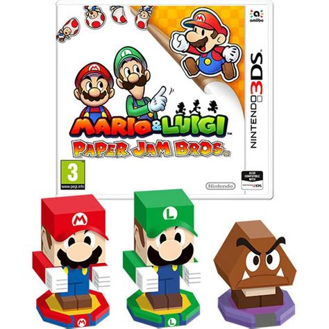Kaset 3ds Mario Luigi Paper Jam mario luigi paper jam bros nintendo official uk store