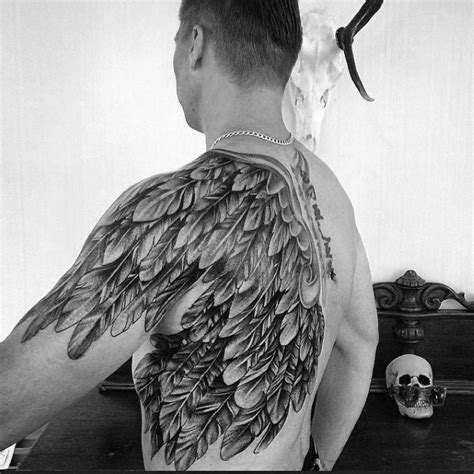 back wing tattoos for men 50 cool back tattoos for expansive canvas design ideas