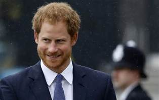 prince harry prince harry meets his ginger prot 233 g 233 at the metropolitan police service of remembrance