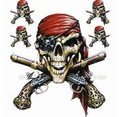Details About SKULL DECAL GRAPHIC For MOTORCYCLE WINDSCREENS PIRATE