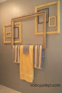 bathroom towel bar ideas margo s junkin journal towel bar from frames how to