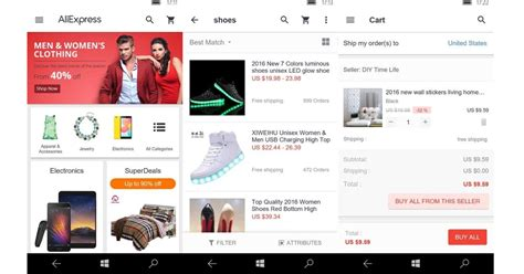 aliexpress mobile site shopping site aliexpress brings universal app to the