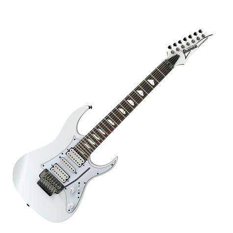 Gitar Ibanez Premium Paketan 1 ibanez steve vai universe premium electric guitar 7 string white b stock at gear4music