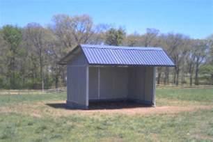 md barnmaster durable safe livestock loafing sheds run