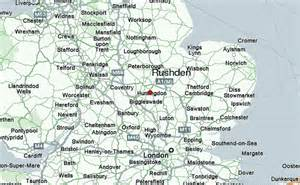 where is on the map rushden location guide