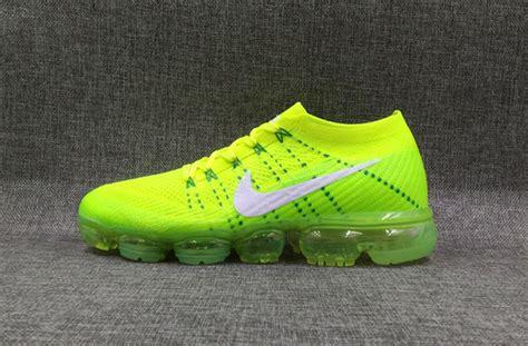 yellow running shoes song orange green mens nike air vapormax shoes