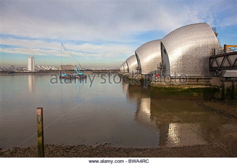 thames barrier woolwich thames barrier surge stock photos thames barrier surge