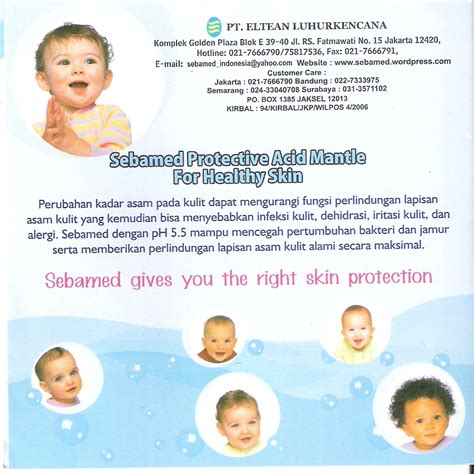 Sebamed Children Shoo 250ml Diskon baby sebamed warung priangan