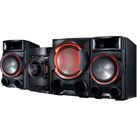 lg cm8430 1200w cd mini hi fi shelf system cm8430 b h photo