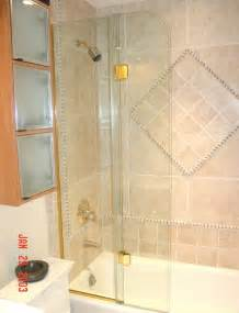 Trackless Bathtub Shower Doors Bi Fold Shower Doors In Fl