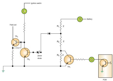 3 resistors in series ac generator design differences charging systems