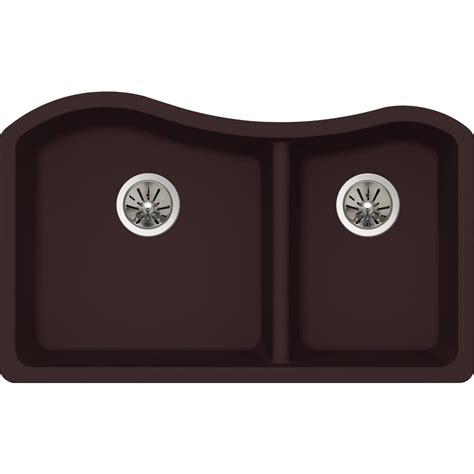 undermount kitchen sinks for 33 cabinet elkay premium quartz undermount composite 33 in