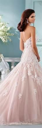 25 best ideas about blush wedding dresses on pinterest